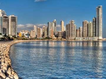 Skyscrapers in Panama City (Panama)