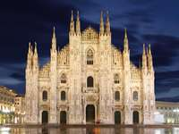 Cathedral of the Nativity of St. Mary in Milan (Italy)