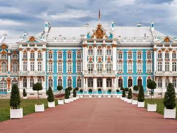 Catherine Palace in Tsarskoye Selo (Russia)