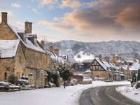 The village of Broadway (Great Britain)