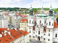 Church of St. Nicholas in the Old Town in Prague (Czech Republic)