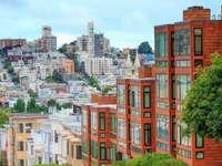 Dwellings in San Francisco (USA)