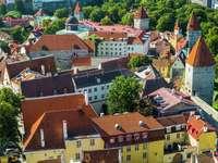 The Old Town in Tallinn (Estonia)