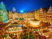 Christmas market in Frankfurt (Germany)