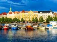 Panorama de Helsinque (Finlândia)