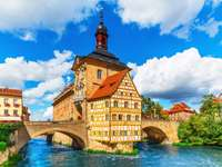 Old city Hall in Bamberg (Germany)