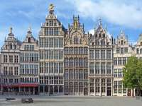Case comercianți în Anvers (Belgia) puzzle online