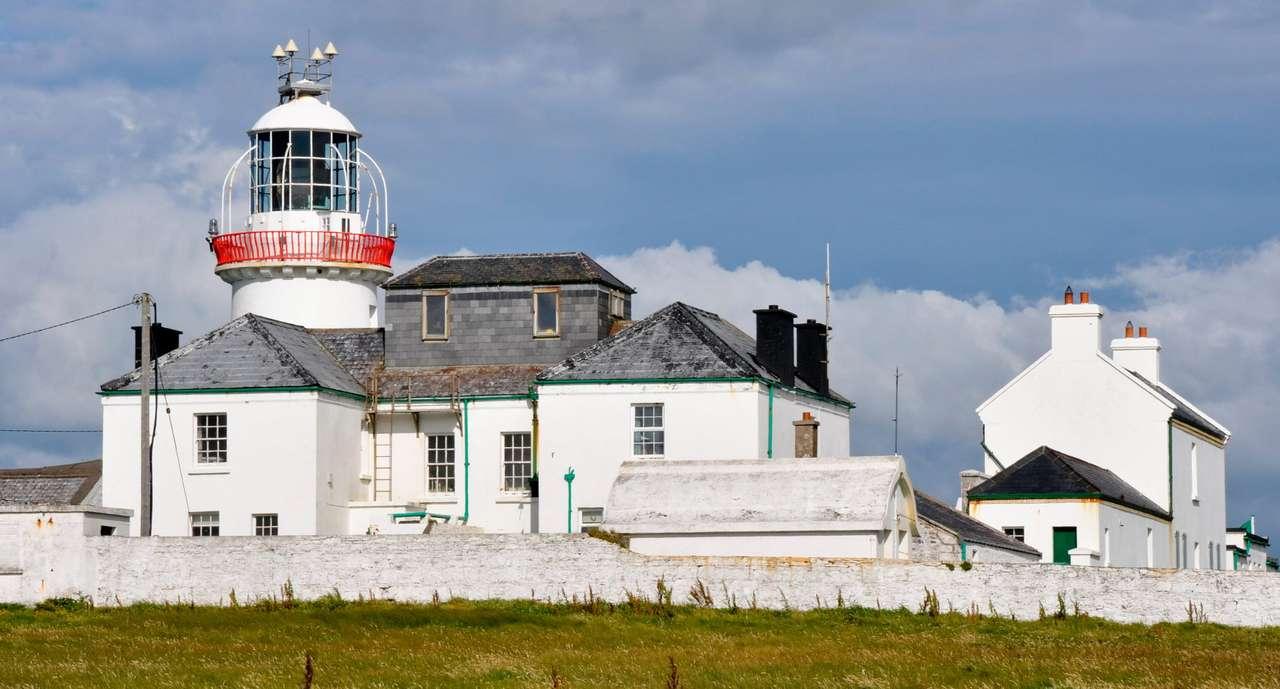 Lighthouse on the Loop Head Peninsula (Ireland)