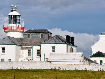 Lighthouse on the Loop Head Peninsula (Ireland)
