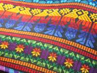 Patterned fabric from Peru