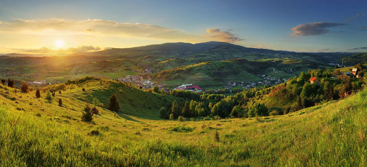 Polana Massif (Slovakia) - Polana Massif of volcanic origin is located in the central part of Slovakia, in the Inner Western Carpathians. The Polana Massif is crowned with a characteristic peak of the same name, which rises 1,4 (12×5)