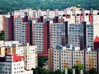 Blocks of flats in Bratislava (Slovakia)