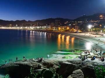 Ipanema beach in Rio de Janeiro (Brazil)