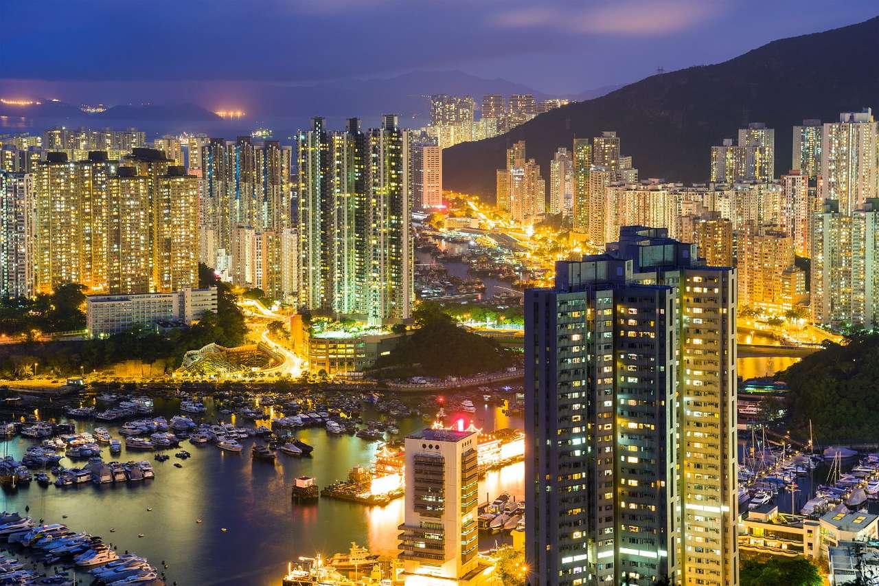 Residential skyscrapers in Hong Kong
