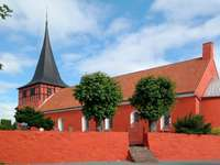 Church in Svaneke (Denmark)