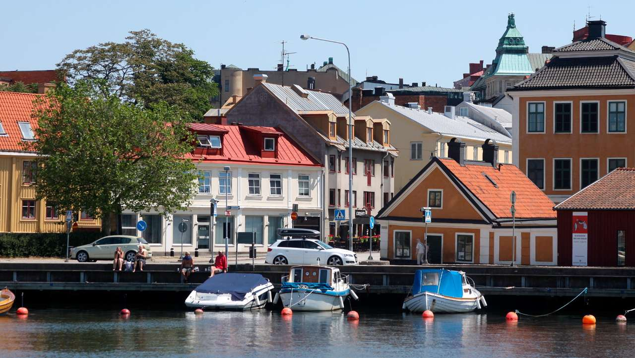 "Sunny day in Karlskrona (Sweden) - Karlskrona is a Swedish city located on thirty-three islands in the Baltic Sea. Its name literally means ""Karl's Crown"" and refers to King Charles XI of Sweden. There are museums dedicated to the hi (11×6)"