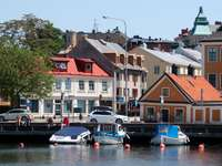 Sunny day in Karlskrona (Sweden)