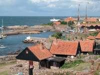 Hamnen i Christiansø (Danmark)