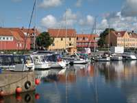 Marina in Nexø (Denmark)