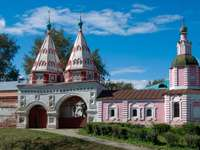 Holy Gate in Suzdal (Russia)