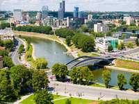 Arranha-céus em Vilnius (Lituânia)