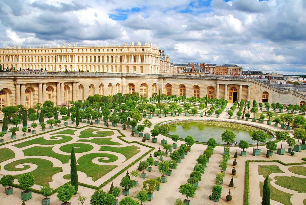 The Gardens of Versailles (France) - The Baroque palace of Versailles was built in the seventeenth century and it was a symbol of French absolute monarchy for years, however, now it is the landmark of France and its most popular – afte (10×6)