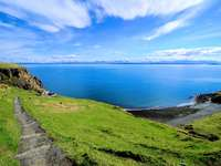 Costa da Ilha de Skye (Reino Unido)