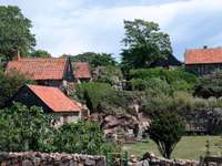 Houses on Christiansø (Denmark)