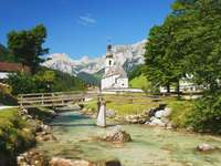 Church of St Sebastian in Ramsau (Germany)