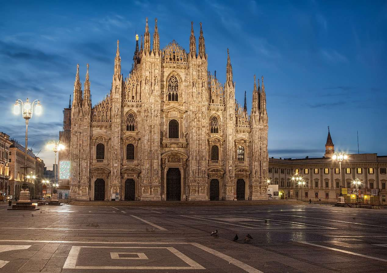 Cathedral of the Nativity of Saint Mary in Milan (Italy)