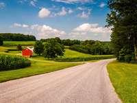 Granja en Pensilvania (EE. UU.)
