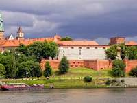 Wawel Royal Castle in Cracow (Poland)