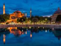 Hagia Sophia at night (Turkey)