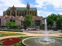 Catedral de Santo Estêvão em Metz (França)
