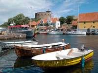 Harbor at Christiansø (Denmark)