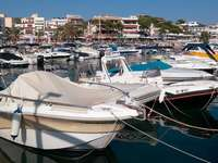 Marina in Cala Ratjada (Spain)