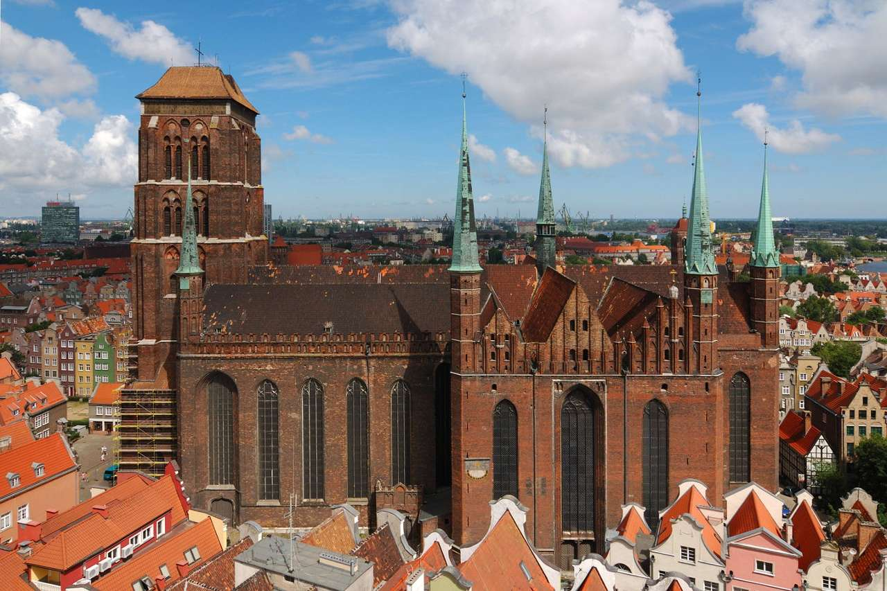 St. Mary's Basilica in Gdańsk (Poland)