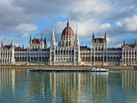 Parliament in Budapest (Hungary)