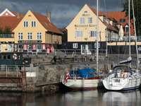 Port of Svaneke (Denmark)