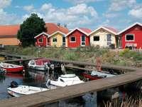 Small harbor near Nexø (Denmark)