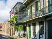 French Quarter in New Orleans (USA)