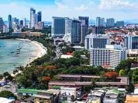 Panorama of Pattaya (Thailand)