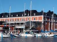 Marina in Kalmar (Sweden)