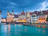 Old Town of Lucerne (Switzerland)
