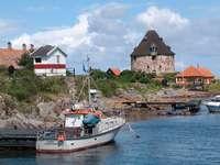 Buildings on Frederiksø (Denmark)