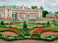 Kadriorg Palace and garden in Tallinn (Estonia)