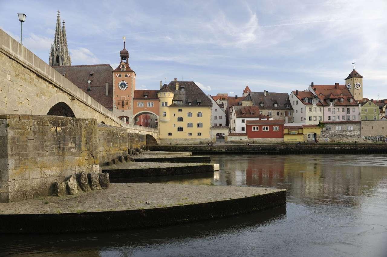 Old Town in Regensburg (Germany)