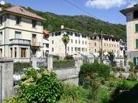 Tenement houses in Civiasco (Italy)