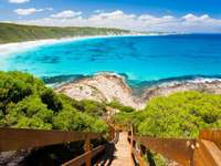 Lookout at Great Ocean Road (Australia)
