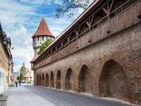 Defensive walls of Sibiu (Romania)